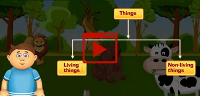 Living Things and Non-living Things-class-1st