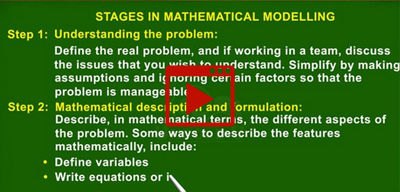Basic concepts of Mathematical Modelling-class-10th