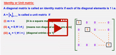 Types of matrices-I-class-12th