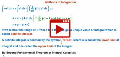 Basic concepts of Integration-class-12th