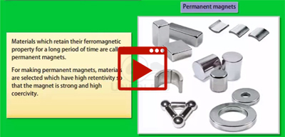 Permanent Magnets and Electromagnet-class-12th